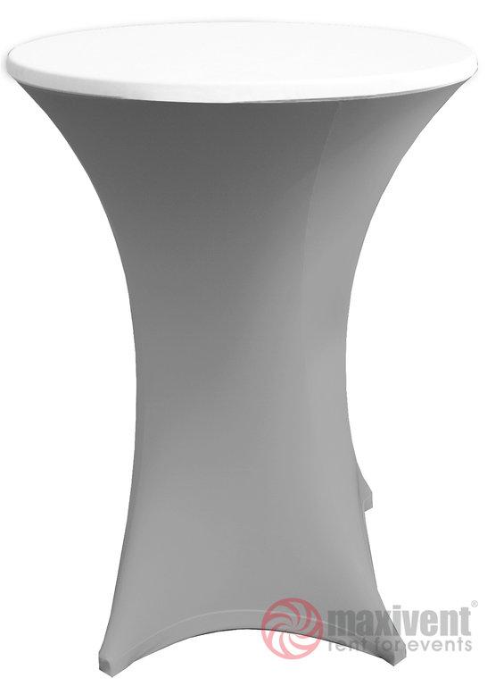 husse schwarz f r stehtisch maxivent partyzubeh r mieten. Black Bedroom Furniture Sets. Home Design Ideas